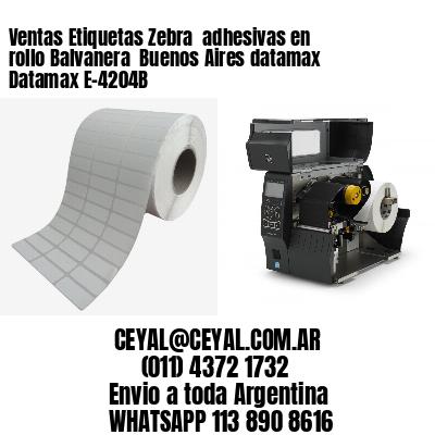 Ventas Etiquetas Zebra  adhesivas en rollo Balvanera  Buenos Aires datamax Datamax E-4204B