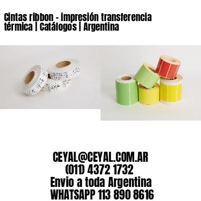 Cintas ribbon - impresión transferencia térmica   Catálogos   Argentina