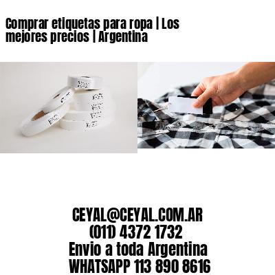 Comprar etiquetas para ropa   Los mejores precios   Argentina