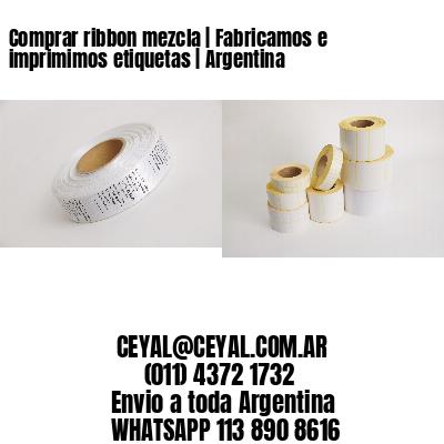 Comprar ribbon mezcla   Fabricamos e imprimimos etiquetas   Argentina