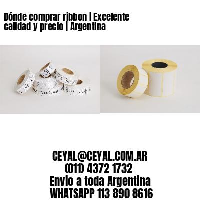 Dónde comprar ribbon   Excelente calidad y precio   Argentina