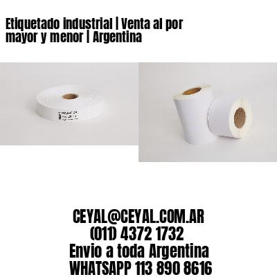 Etiquetado industrial   Venta al por mayor y menor   Argentina