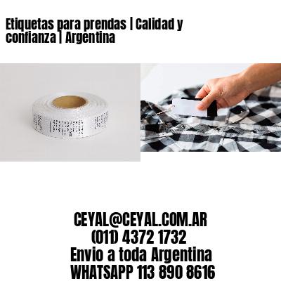 Etiquetas para prendas   Calidad y confianza   Argentina