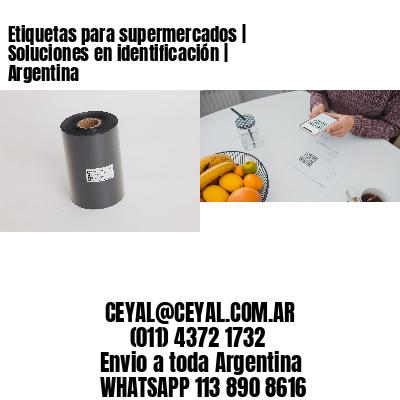 Etiquetas para supermercados   Soluciones en identificación   Argentina
