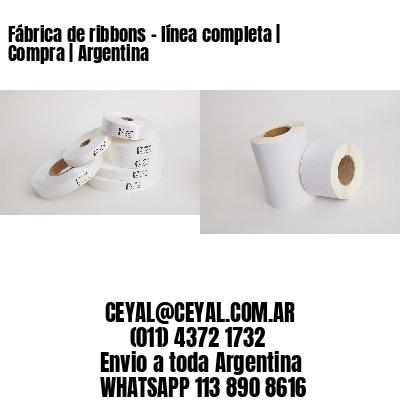 Fábrica de ribbons - línea completa   Compra   Argentina