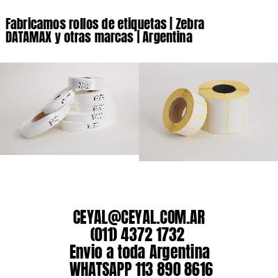 Fabricamos rollos de etiquetas   Zebra DATAMAX y otras marcas   Argentina
