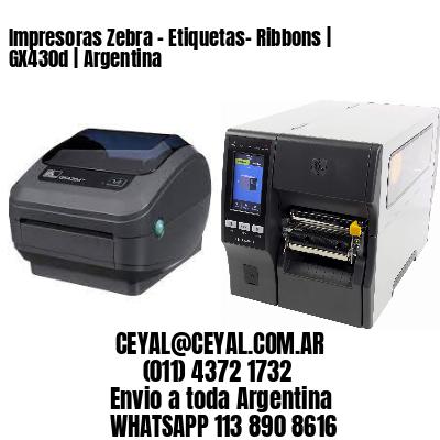Impresoras Zebra - Etiquetas- Ribbons   GX430d   Argentina