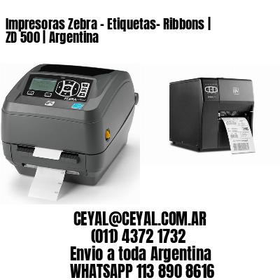 Impresoras Zebra - Etiquetas- Ribbons   ZD 500   Argentina