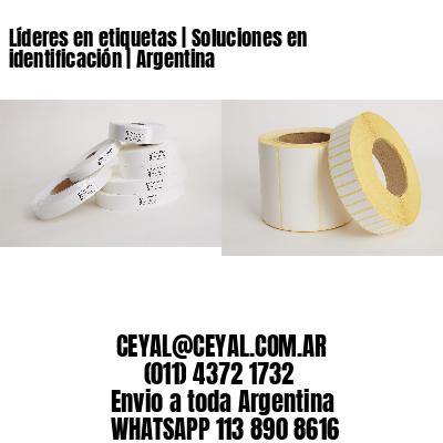 Líderes en etiquetas   Soluciones en identificación   Argentina