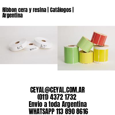 Ribbon cera y resina   Catálogos   Argentina
