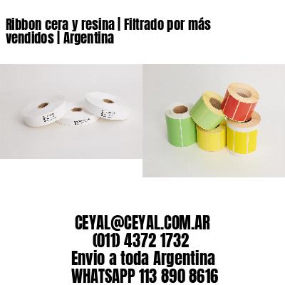 Ribbon cera y resina | Filtrado por más vendidos | Argentina
