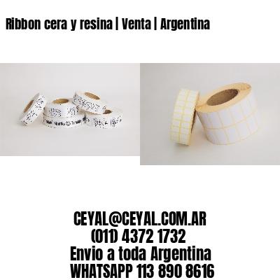 Ribbon cera y resina   Venta   Argentina