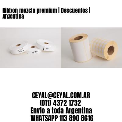 Ribbon mezcla premium   Descuentos   Argentina
