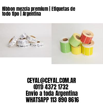 Ribbon mezcla premium   Etiquetas de todo tipo   Argentina