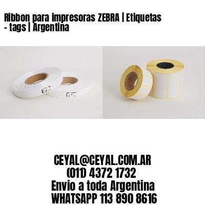 Ribbon para impresoras ZEBRA   Etiquetas - tags   Argentina