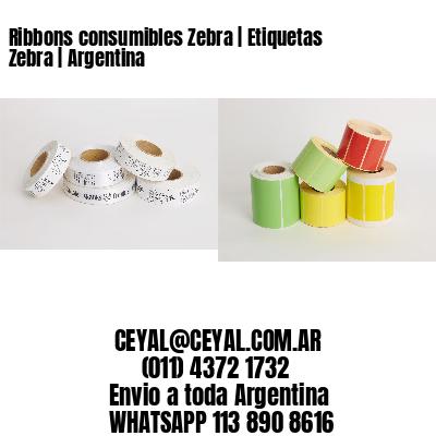 Ribbons consumibles Zebra   Etiquetas Zebra   Argentina
