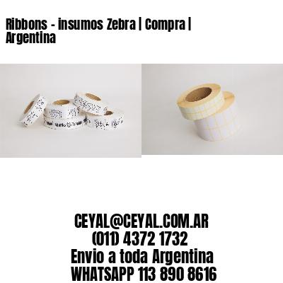 Ribbons - insumos Zebra | Compra | Argentina