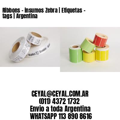 Ribbons - insumos Zebra   Etiquetas - tags   Argentina