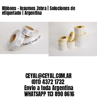 Ribbons - insumos Zebra   Soluciones de etiquetado   Argentina
