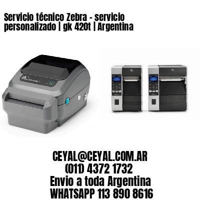 Servicio técnico Zebra – servicio personalizado   gk 420t   Argentina