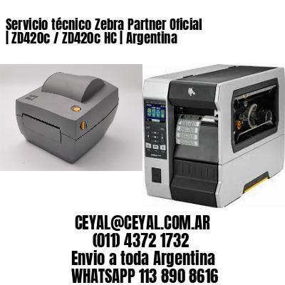 Servicio técnico Zebra Partner Oficial   ZD420c / ZD420c‑HC   Argentina