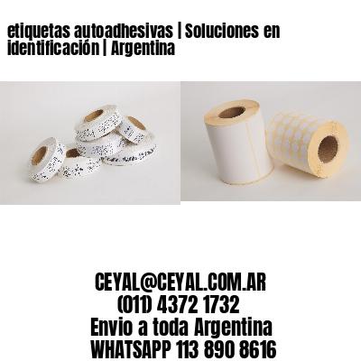 etiquetas autoadhesivas   Soluciones en identificación   Argentina