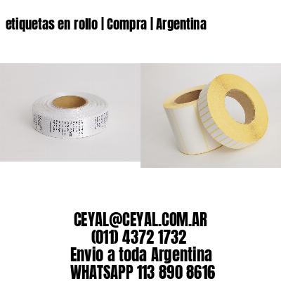 etiquetas en rollo   Compra   Argentina