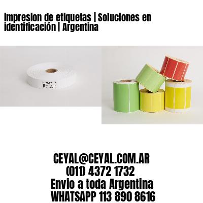 impresion de etiquetas   Soluciones en identificación   Argentina