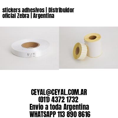 stickers adhesivos   Distribuidor oficial Zebra   Argentina