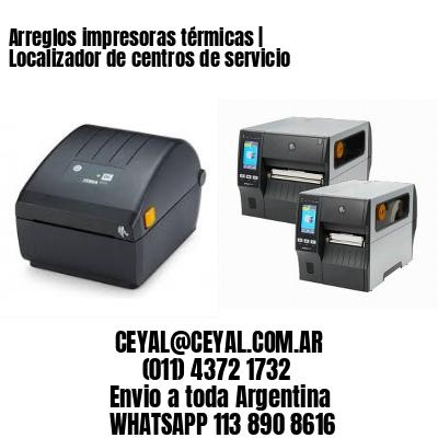 Arreglos impresoras térmicas | Localizador de centros de servicio