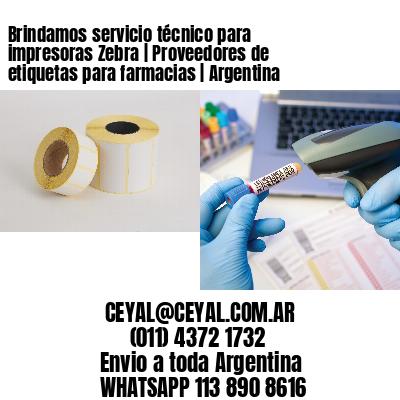 Brindamos servicio técnico para impresoras Zebra | Proveedores de etiquetas para farmacias | Argentina
