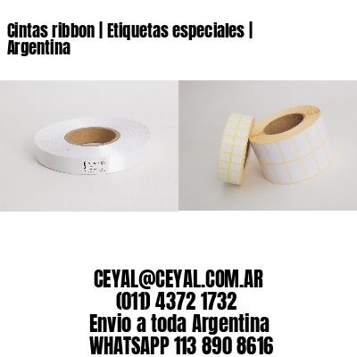 Cintas ribbon   Etiquetas especiales   Argentina