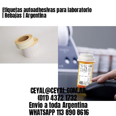 Etiquetas autoadhesivas para laboratorio   Rebajas   Argentina