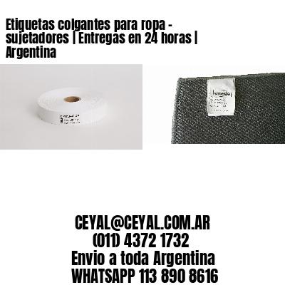 Etiquetas colgantes para ropa - sujetadores   Entregas en 24 horas   Argentina