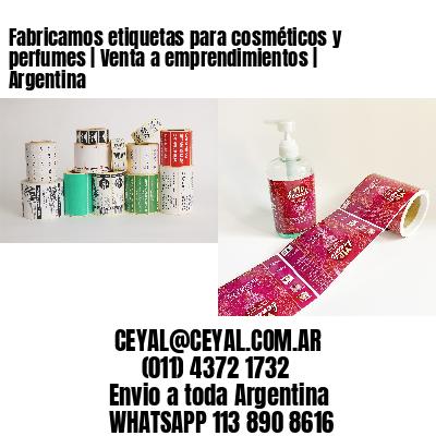 Fabricamos etiquetas para cosméticos y perfumes   Venta a emprendimientos   Argentina