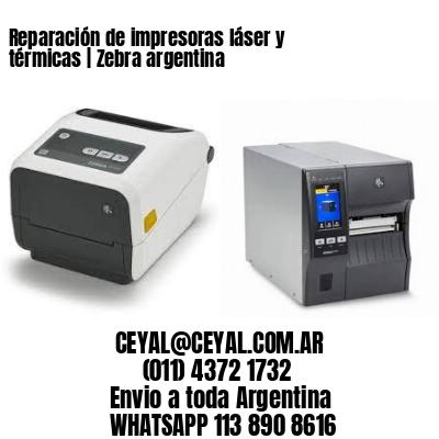 Reparación de impresoras láser y térmicas | Zebra argentina