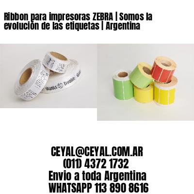 Ribbon para impresoras ZEBRA   Somos la evolución de las etiquetas   Argentina