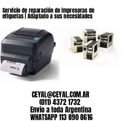 Servicio de reparación de impresoras de etiquetas | Adaptado a sus necesidades