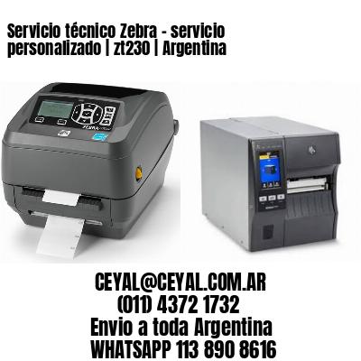 Servicio técnico Zebra – servicio personalizado   zt230   Argentina