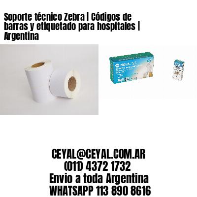 Soporte técnico Zebra | Códigos de barras y etiquetado para hospitales | Argentina